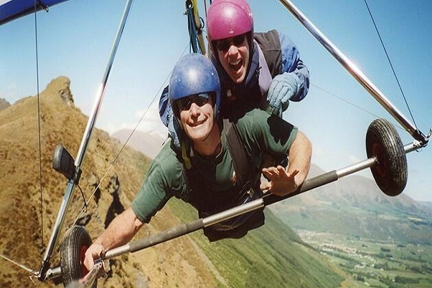 Hang gliding - nepal adventure travel