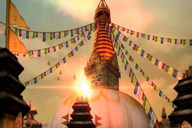 Swayambhunath Stupa - nepal buddhist holy sites