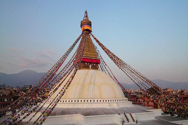 boudhanath stupa -buddhism of nepal