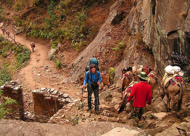 chamje - trekking manaslu