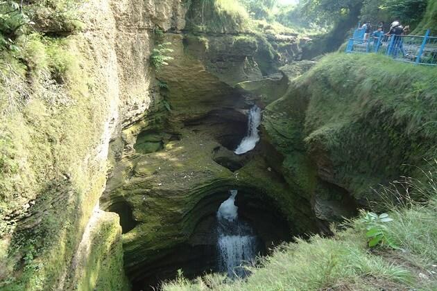 david falls - nepal culture tours