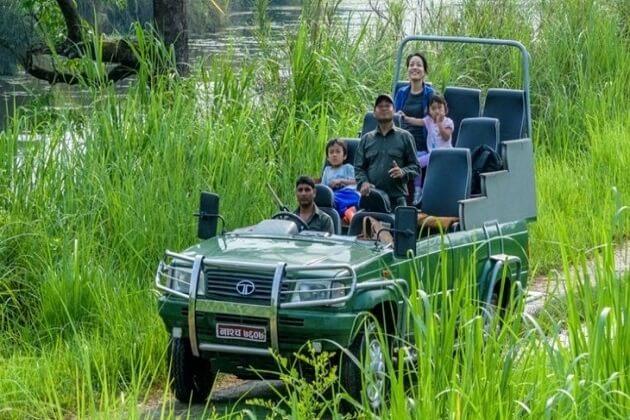 jungle safari - nepal adventure tours