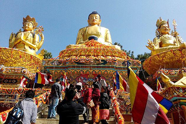 nepal buddhist statues
