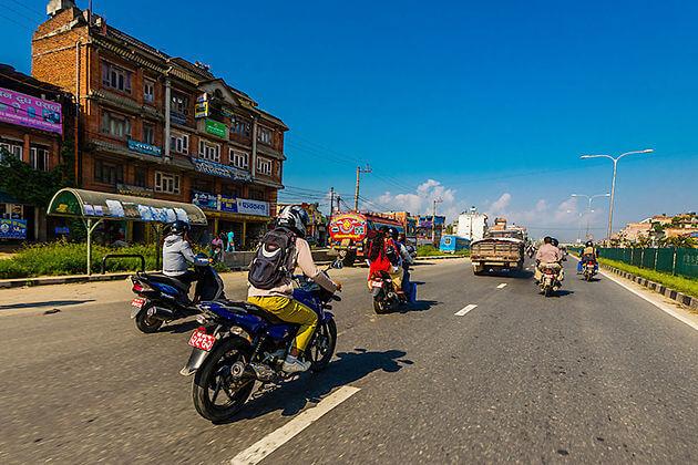 nepal traffic - nepal living standard facts