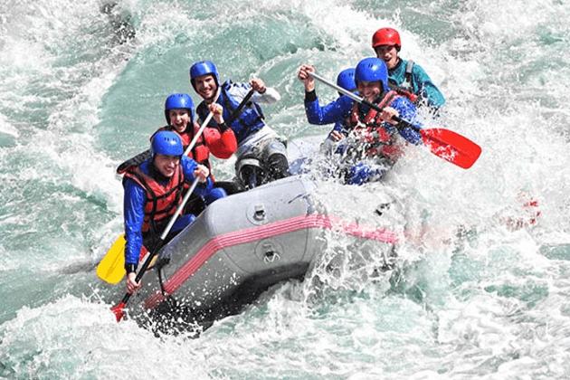 river rafting - nepal adventure