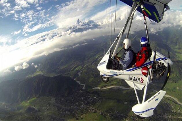 ultralight flight - nepal adventure tour