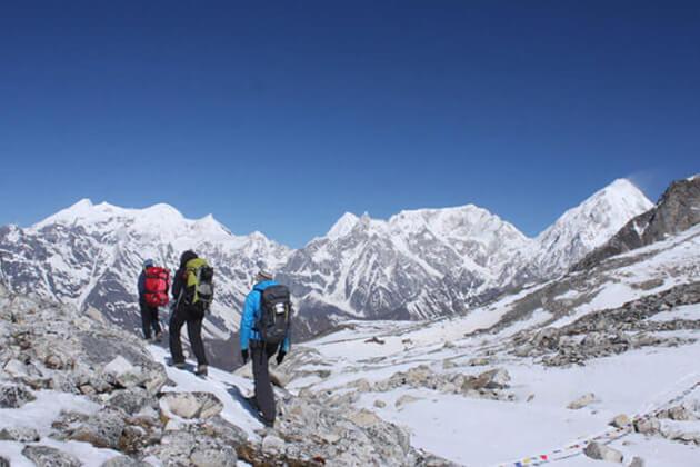 winter good nepal weather for trekking