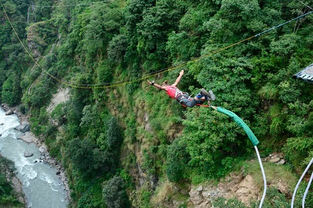 Bungee Jump nepal - places to visit in nepal