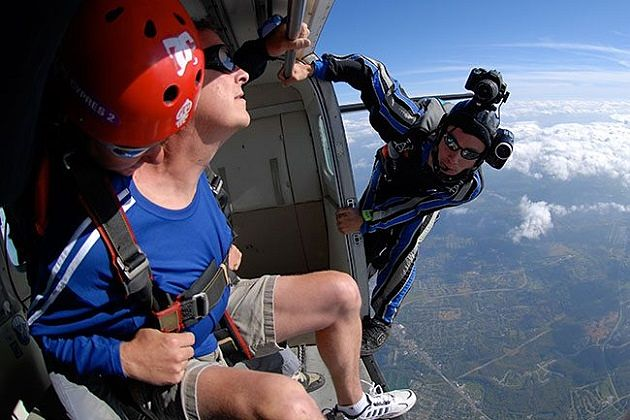 A Sensational Experience With Skydive Designed By Go Nepal Tours