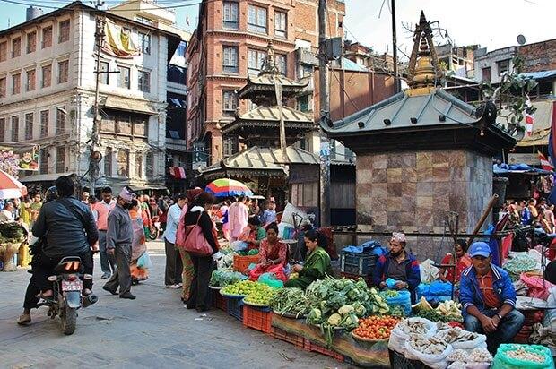 Kathmandu city - skydiving pokhara nepal