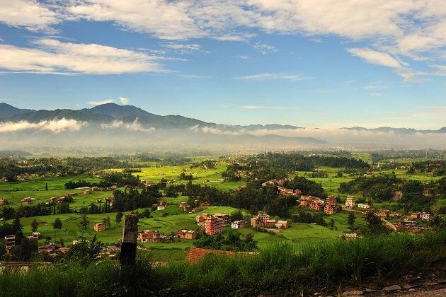 Kathmandu valley - ama yangri trek route