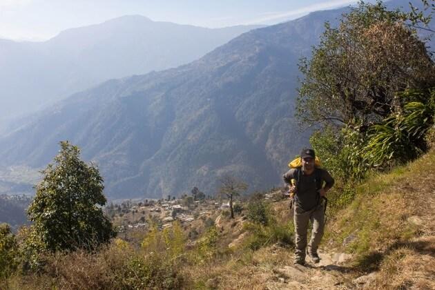 Shermathang - the best ama yangri trek