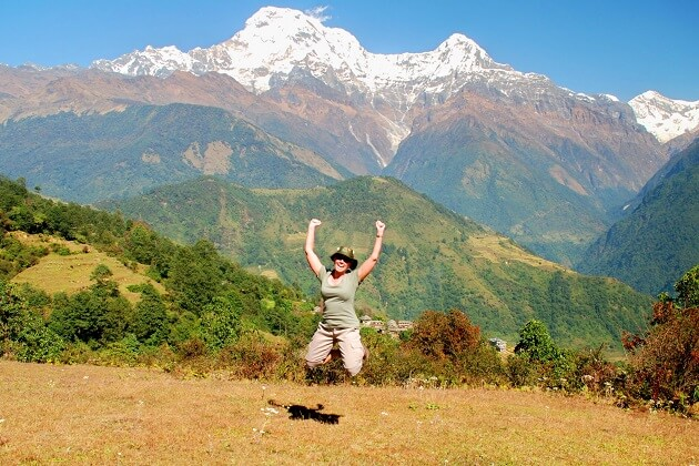 Spring season for nepal adventure tours
