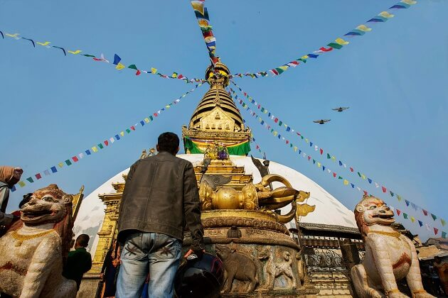 Swayambhunath Temple -best thing in nepal