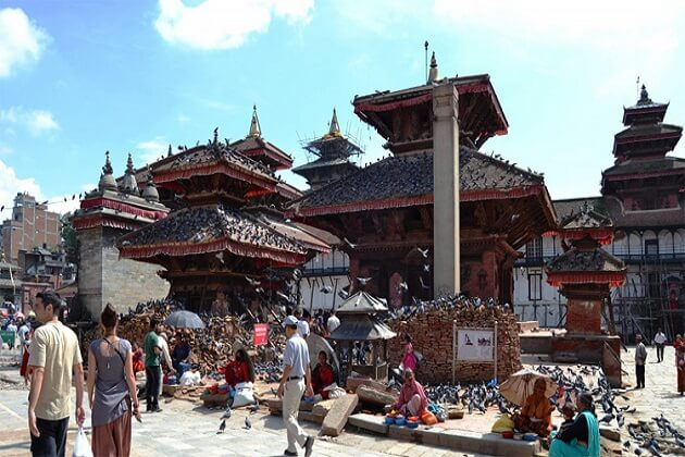kathmandu durbar square - thing to do nepal