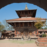 Nagarkot halt - nepal cycling trip