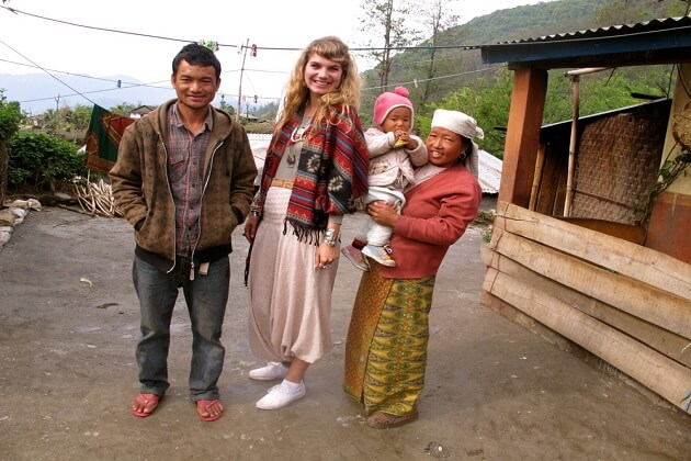 dressing nepal - nepal culture tour