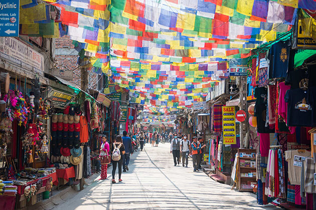 thamel - top kathmandu attractions