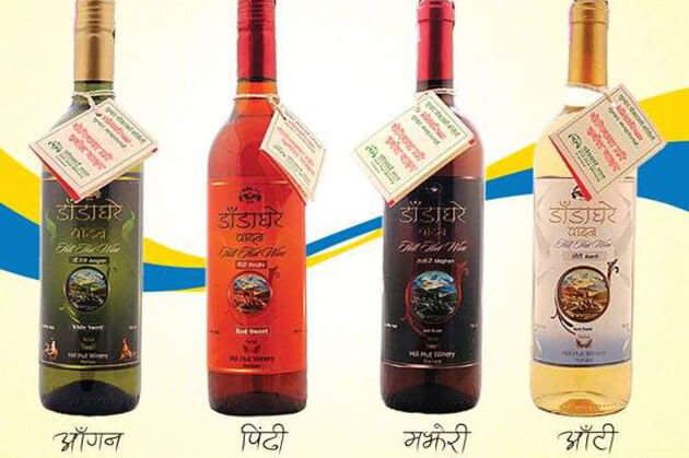 Dadaghare - best nepal wines