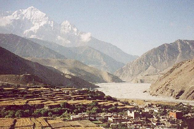 Kagbeni - upper mustang trek in nepal