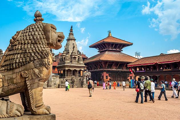 Kathmandu Durbar Square -nepal shaman