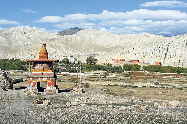 Lo-Manthang - nepal upper mustang
