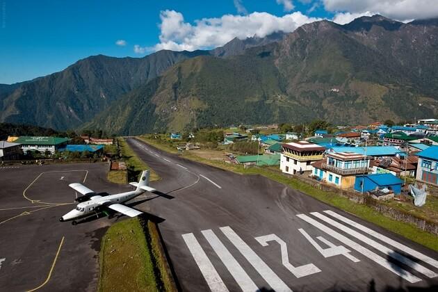 Lukla Airport - nepal airport lukla