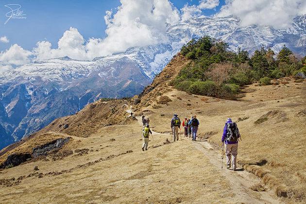 Syangboche - upper mustang trek nepal