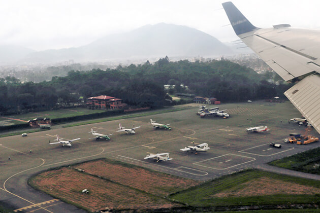 Tribhuvan International Airport - nepal airport