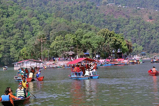 fewa lake - trek to upper mustang
