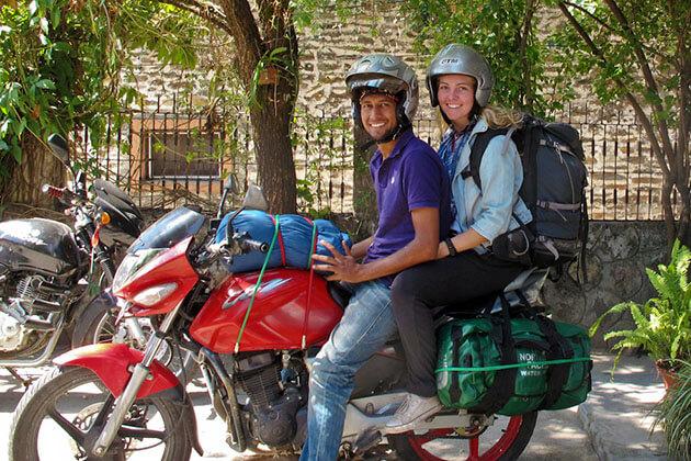 motorbike to kathmandu - nepal motorbike trip