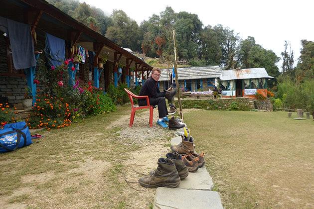 Forest Camp at Kokar
