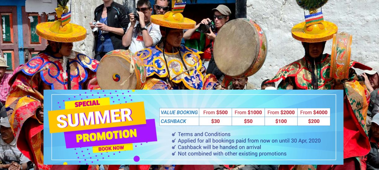 summer promotion nepal tour packages